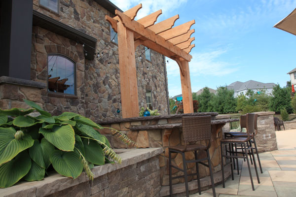 Outdoor Bar Arbor