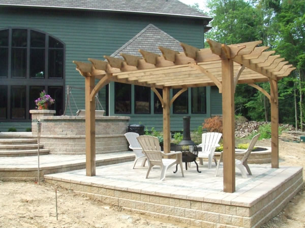 Pergola Over Patio