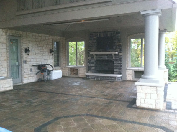 B T Klein S Landscaping Hardscapes Fireplaces