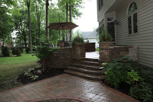 Raised Concrete Patio Ideas submited images