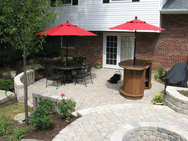 klein's lawn & landscaping | hardscapes | patios - Multi Level Patio Designs