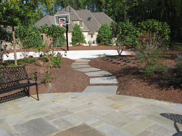 B T Klein S Landscaping Hardscapes Walkways