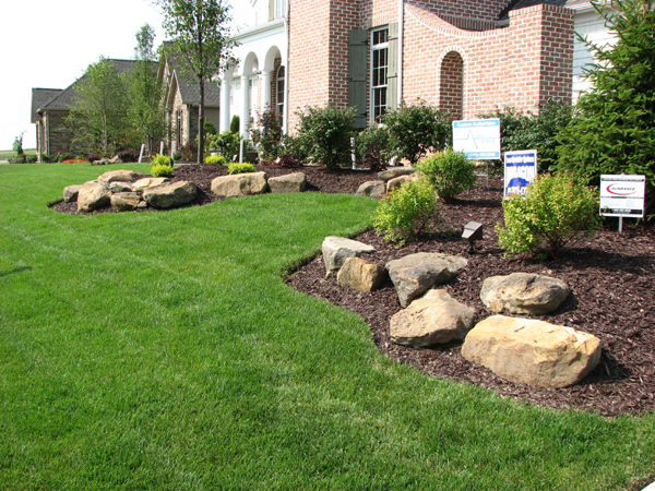 Klein 39 s lawn landscaping landscapes designed landscapes for Landscaping rocks