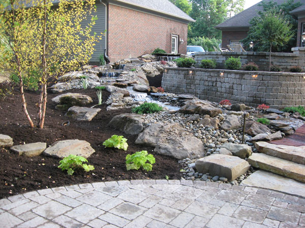 Backyard Escapes klein's lawn & landscaping | solution center | before & after