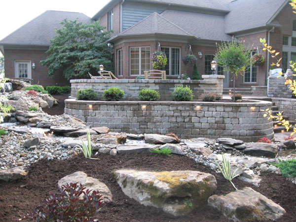 Backyard Escapes Landscaping : Landscaping solution center before after backyard escape