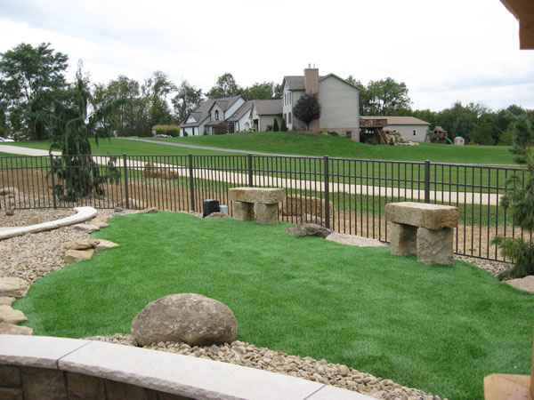 B T Klein S Landscaping Synthetic Turf Landscape Grass
