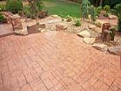 Front Entry Stamped Concrete Patio