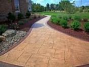 Front Walkway with Low Maintenance Landscaping