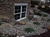 Decorative Gravel Around Window Well