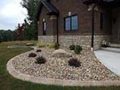 Front River Gravel Landscaping Bed