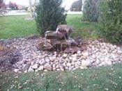Tiered Rock Water Feature