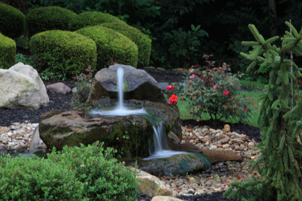 Natural Stone Fountains For Garden Bt kleins landscaping water features hand carved natural stone handcarved natural stone rock bubbler fountain workwithnaturefo