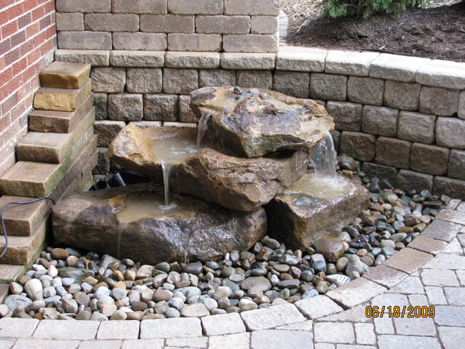 1000 images about pond on pinterest diy water fountain diy fountain and backyard waterfalls - How to build an outdoor fountain with rocks ...