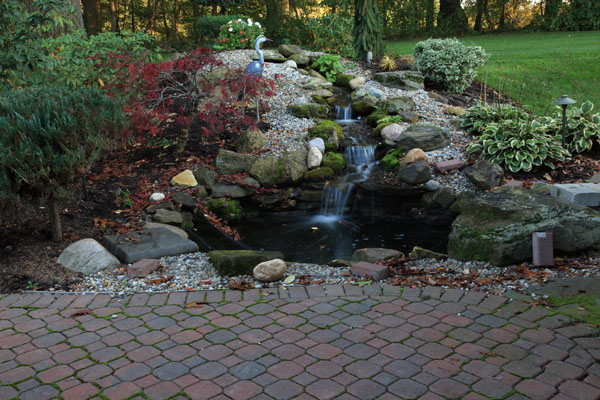 Klein 39 S Lawn Landscaping Water Features Pond Waterfalls