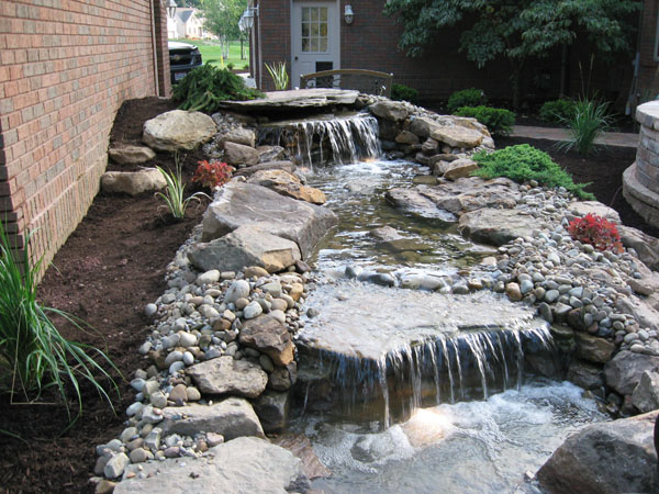 B T Klein S Landscaping Water Features Pond Waterfalls