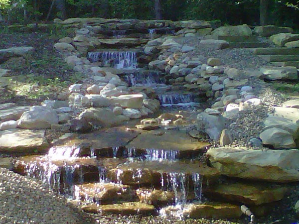 Pondless Natural Waterfall